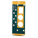 AJA OG-FIBER-REAR Rear Mounting Board for Fiber Modules (Replacement)