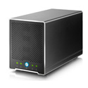 AKiTiO TBQM-TIAA-AKTUH Thunder2 Quad Mini SSD Thunderbolt Drive Array 4TB Read 1375MB/S - 4 x 1TB SSDs