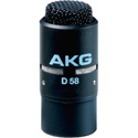 AKG D58E Professional Dynamic Noise-Canceling Microphone Matte Black