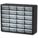 Akro-Mils 10124 24 Drawer Plastic Frame Storage Cabinet