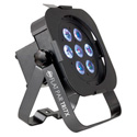 American DJ Flat Par Tri 7X Low Profile LED Par Can