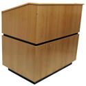 Amplivox SN3030OK - Coventry Lectern - No Sound - Oak