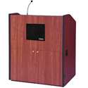 SS3430CH Multimedia Sound Smart Podium - Cherry