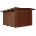 W242MH Travel-Lite Folding Tabletop Lectern-Mahogany