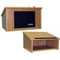 Amplivox W250OK Tabletop Lectern - Oak