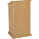 W470OK Chancellor Lectern - No Sound - Oak