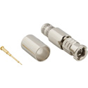 Amphenol 034-1017-12G HD-BNC (High-Density) Straight Crimp Plug for 1694A 75ohm Optimized for 12G