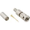 Amphenol 034-1026-12G HD-BNC Straight Crimp Plug for 1855A 1865A and 4855R 75ohm Optimized for 12G