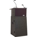 Anchor ACL-BP Acclaim Portable Lectern Basic Package with (1) Wireless Receiver and (1) Handheld Mic