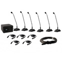 Anchor CM-6W CouncilMAN Conference System - 6 User Package w/ Wireless Mic
