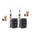 Anchor LIB-DPDUALAC Deluxe Package  Dual AC only/ 2 wireless mics w/Bluetooth
