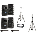 Anchor LIB-DP-AIR Liberty Platinum Deluxe AIR Package Dual with Bluetooth & (2) Wireless Receivers & (2) Handheld Mics