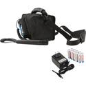 Anchor MiniVox Lite AC/DC powered Speaker Monitor PA - Basic Package - Blue