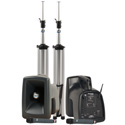 Anchor MEGA-DPDUAL-AIR MegaVox  Deluxe AIR  Package Dual with & (2) Wireless Receivers & (2) Handheld Mics