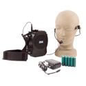 Anchor RSM-HB Rescueman Personal PA w/RC-30 Battery Recharge Kit and Headband Microphone
