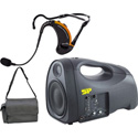 Special Projects SP-GXE-LITE Group X Evo Lite Portable PA System with Evo headset and one built-in Receiver - 40w