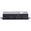 Apantac HDMI-1x2 HDMI 1x2 Splitter - Includes 6 Ft. HDMI Cable