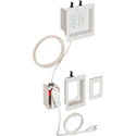 Arlington TVBRA3K Two-Gang TV Bridge II Kit/PREWIRED TV Bridge Kit
