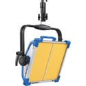 ARRI L0.0007717 SkyPanel S30-RP 3200K Remote Phosphor Light Panel with Edison powerCON - Blue/Silver - Manual