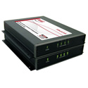 Artel FiberLink 4040-B9S 4 Channel Analog Audio Line Level 1550nm Singlemode 1 Fiber Transmitter Box Version