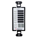Ashly NEWR-5 Programmable Multi-Function Network Decora Wall Remote Control