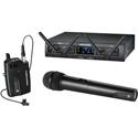 Audio-Technica ATW-1312/L System 10 Pro Wireless with HH Mic/TX & 2 RX Units & 1 Bodypack TX & 2 Lav Mics