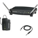 Audio-Technica ATW-901A-G System 9 VHF Wireless Unipak Mic System with AT-GcW Gu
