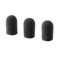 Audio-Technica Pack of 3 Windscreens for AT898 and AT899 Models (Black)