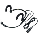 Audio-Technica AT889cW Noise-Cancelling Condenser Headworn Microphone