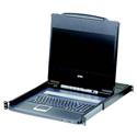 Aten CL6700MW 17 Inch Wide Screen Full HD LCD Console Support DVI HDMI VGA