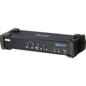 Aten CS1764A 4-Port USB2.0 DVI KVMP Switch - Cables Included