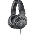 Audio-Technica ATH-M30X Closed-Back Dynamic Monitor Headphones