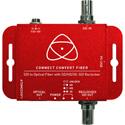 AtomosConnect Convert Fiber - SDI to Optical Fiber Converter with SD/HD/3G-SDI Reclocker