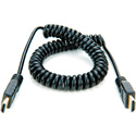 Atomos ATOMCAB011 Coiled Full HDMI to Full HDMI Cable (50-65cm)