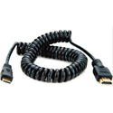 Atomos ATOMCAB014 Coiled Micro to Full HDMI Cable 50cm - 65cm