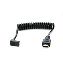 Atomos ATOMCAB015 Coiled Micro To Full HDMI Cable 30cm - 45cm