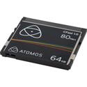 Atomos ATOMCFT064 1x 64GB 1.0 Cfast Card