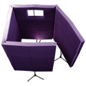 Auralex MAX-Wall 1141 Mobile Acoustical Vocal Booth - (Charcoal)