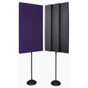 Auralex PROMAX-V2PUR Acoustic Panels with Floor Stands - Pair Purple