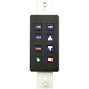 Aurora DXB-8-BK 8-Button Backlit Panel - Black
