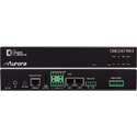 Aurora DXE-CAT-RX3C-A  HDBaseT Receiver 330/600 Ft - Dual Relay & Audio Line In/Out - 2x35W AMP & IP Control