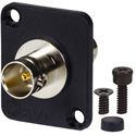 AVP UMJJ200 Maxxum BNC Feedthru 12 GHz 75 Ohm Non-Recessed Black Plate Adapter Plate(s) and/or Hardware MIS Color-Code