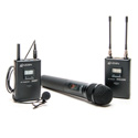 Azden 310LH Wireless System w/ Lav & Handheld