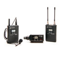 Azden 310LX UHF Camera Mount Lavalier Mic & XLR Plug-In Wireless Mic System