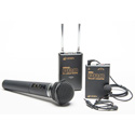 Azden WDM-PRO Dual Wireless Mic Combo
