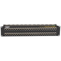 Black Box JPM816A CAT6 Patch Panel Feed-Through 2U Shielded 48-Port