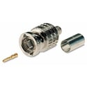 Canare BCP-A25F BNC Crimp Plug for Canare L-2.5CFB or Belden 1855A