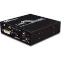 Link Bridge LBO-DVI-AD DVI w/Audio & Data Over 1 SC Multimode Tx/Rx System