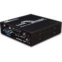 Broadata Link Bridge VGA with Audio & Data Over 1 SC Multimode Fiber Tx/Rx Kit