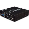 Broadata Link Bridge VGA with Audio & Data Over 1 SC Multimode Fiber Tx/Rx Kit